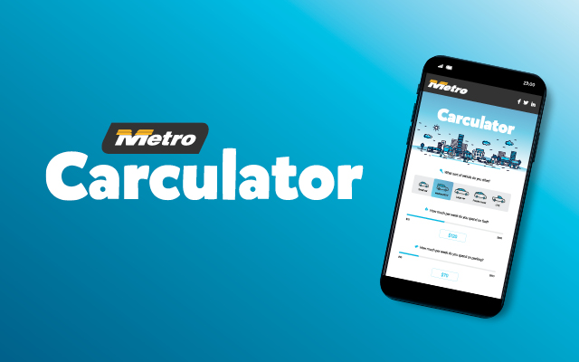 Use the car-culator to see how much you could save by taking the bus!