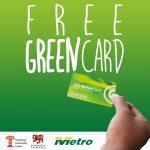 UTAS student Greencard promotion
