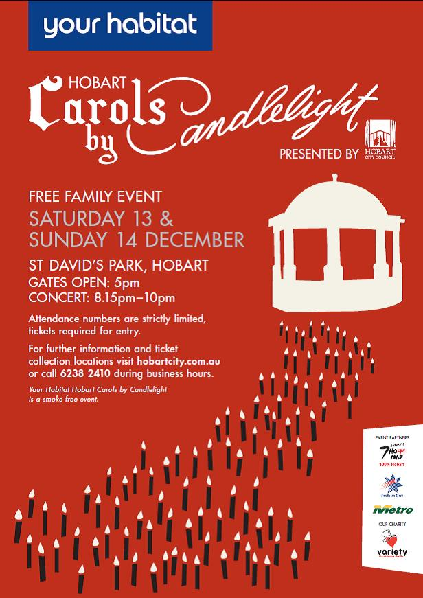 Carols by Candlelight Poster 2014
