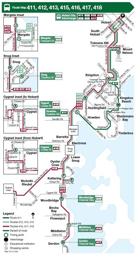 Southern Towns Channel Destinations Metro Tasmania Metro Tasmania