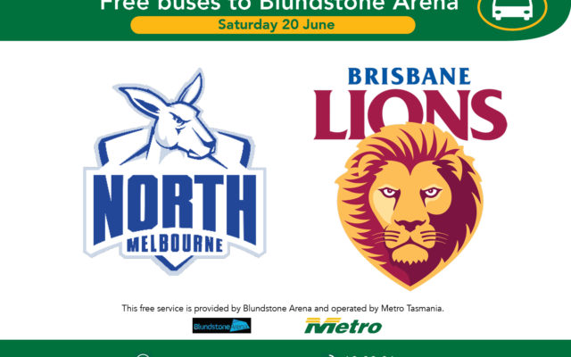 Travel advice for AFL Saturday 20 June
